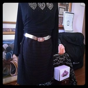 Dress barn Black Stretchy Skirt